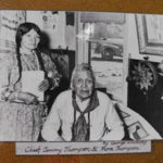 Celilo Chief Tommy Thompson and wife Flora