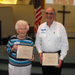 Norma Clark and Wally Wolf, 2016 Pioneers of the Year