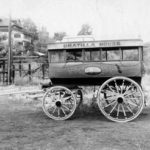 Umatilla House Bus, located at Fort Dalles Museum