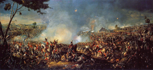 Battle of Waterloo by William Sadler