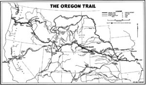 End of the Overland Oregon Trail Historic The Dalles